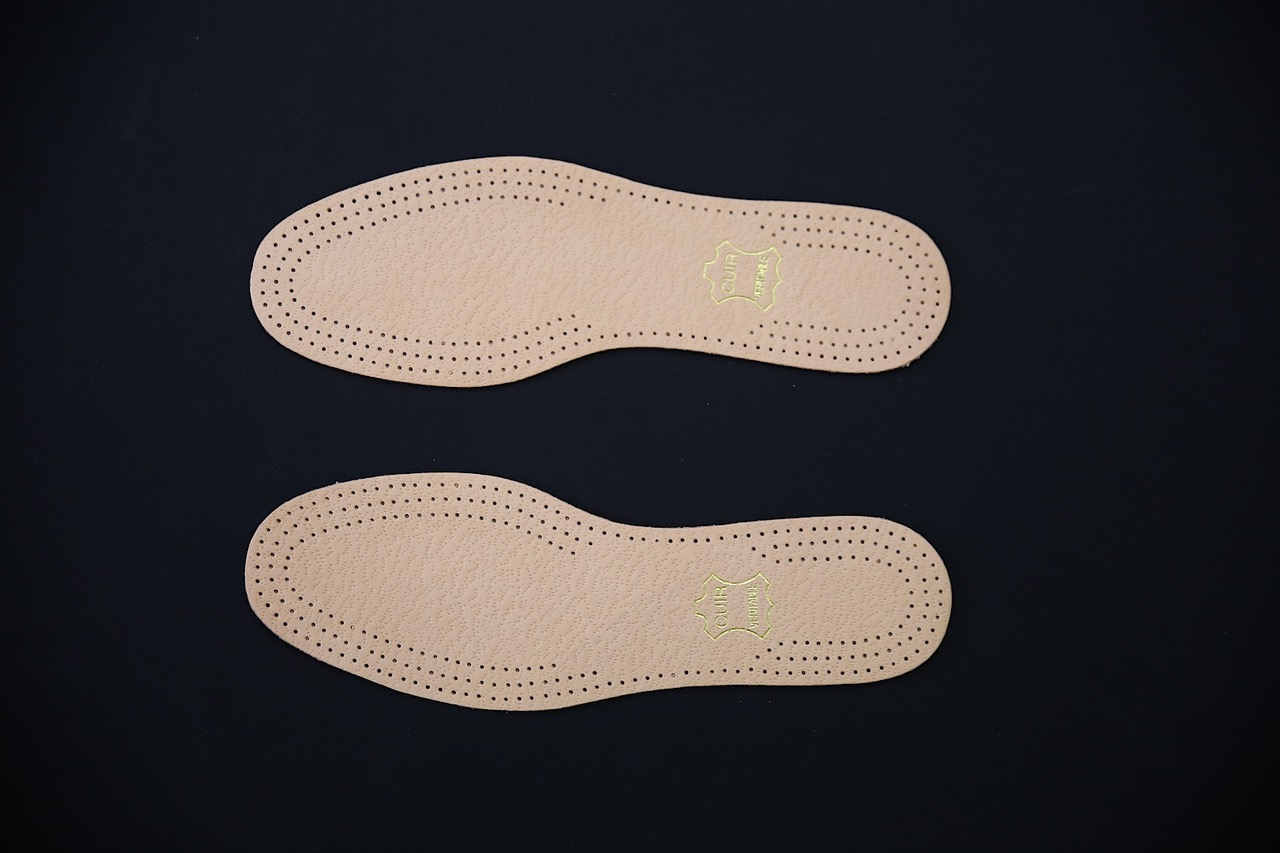 Soft Calf Leather Insoles (pair)