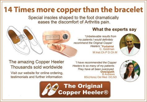 The Original Copper Heeler - 14 times more copper than the bracelet